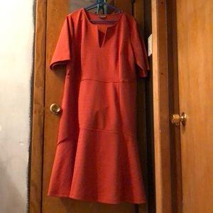 Beautiful thick orange dress